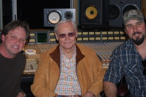 Kent W. with George Jones and Eric Lee Beddingfield.